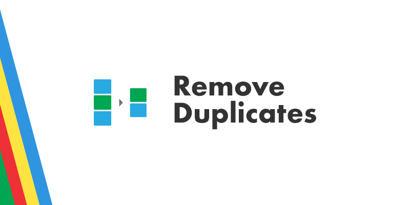 Remove Duplicates Blog